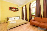 Уютная с видом на центральную улицу рядом Бессарабка, Студио (14505)