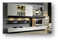 Мебель для гостинной комнаты- изготовление на заказ стенок в классическом и совремнном стиле.