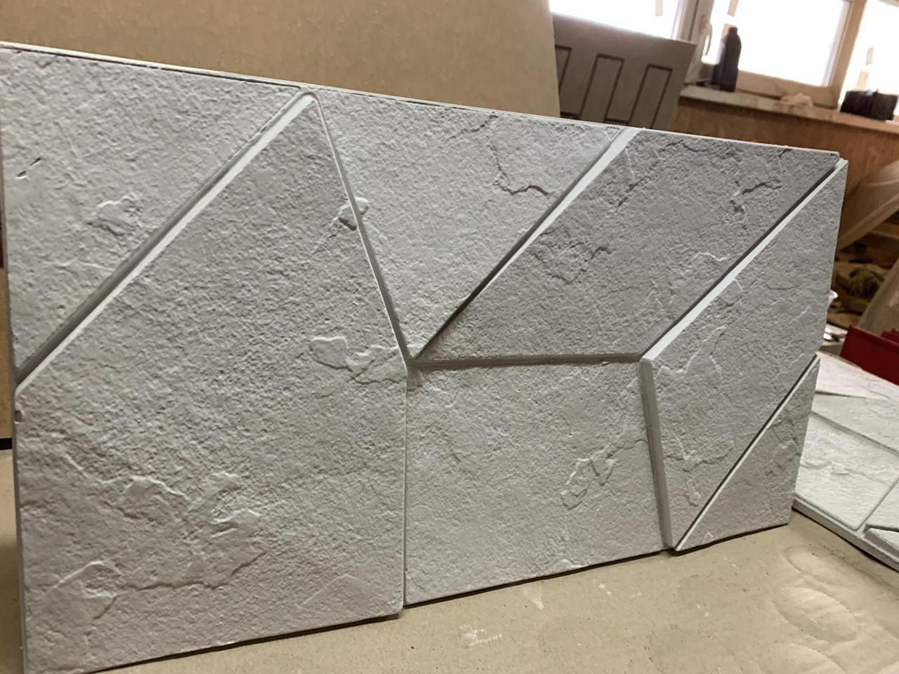 """Резиновая форма для 3d панелей """"Квест"""" 535х295х20 (форма для 3д панелей из из мягкой резины)"""