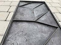 """Резиновая форма для 3d панелей """"Квест"""" 535х295х20 (форма для 3д панелей из из мягкой резины), фото 5"""