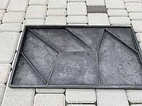 """Резиновая форма для 3d панелей """"Квест"""" 535х295х20 (форма для 3д панелей из из мягкой резины), фото 6"""