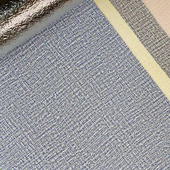 Текстурные клеящиеся обои синие 50см*2,8м*3мм