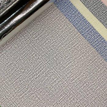 Текстурные клеящиеся обои серые 50см*2,8м*3мм
