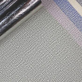 Текстурные клеящиеся обои светло-зеленые 50см*2,8м*3мм