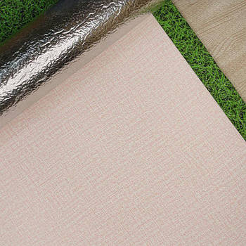 Текстурные клеящиеся обои розовые 50см*2,8м*3мм