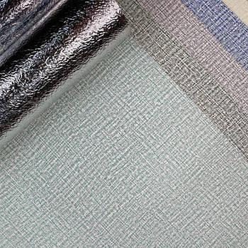 Текстурные клеящиеся обои зеленые 50см*2,8м*3мм