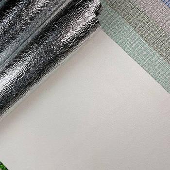 Текстурные клеящиеся обои белые 50см*2,8м*3мм