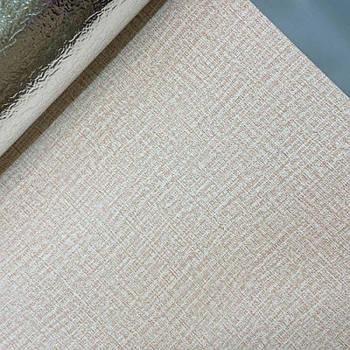 Текстурные клеящиеся обои бежевые 50см*2,8м*3мм