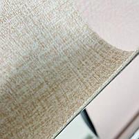 Текстурні клеяться шпалери бежеві 50см*2,8 м*3мм, фото 3