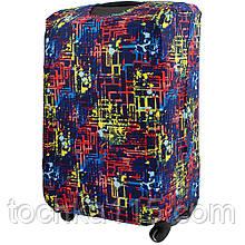 Чехол для чемодана S/M/L Чехол для малого, среднего и большого чемодана Лабиринт
