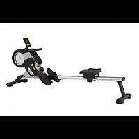 Гребний тренажер Besport BS-6031R DRAGER магнітний чорно-жовтий