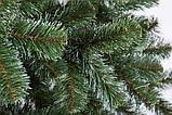 """Ялинка штучна зелена """"Казка"""" з білими кінчиками 2.20 м, фото 3"""