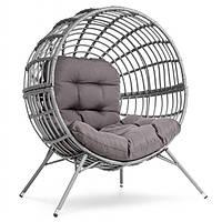 Садове крісло Arancia DV-035BA сіро-графітовий