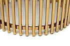 Кофейный столик CJ-1 белый + золото от Vetro Mebel, фото 7