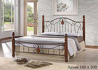 Двуспальная кровать Agnes 1.6