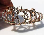 Кольцо на фалангу пальца Цветы, фото 2