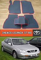 ЕВА коврики Део Леганза 1997-2003. EVA ковры на Daewoo Leganza