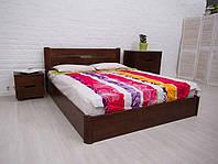 Деревянная кровать из бука  Олимп Айрис с подъемным механизмом, фото 1
