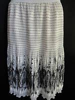 Женская юбка длинная шифоновая отпом, фото 1