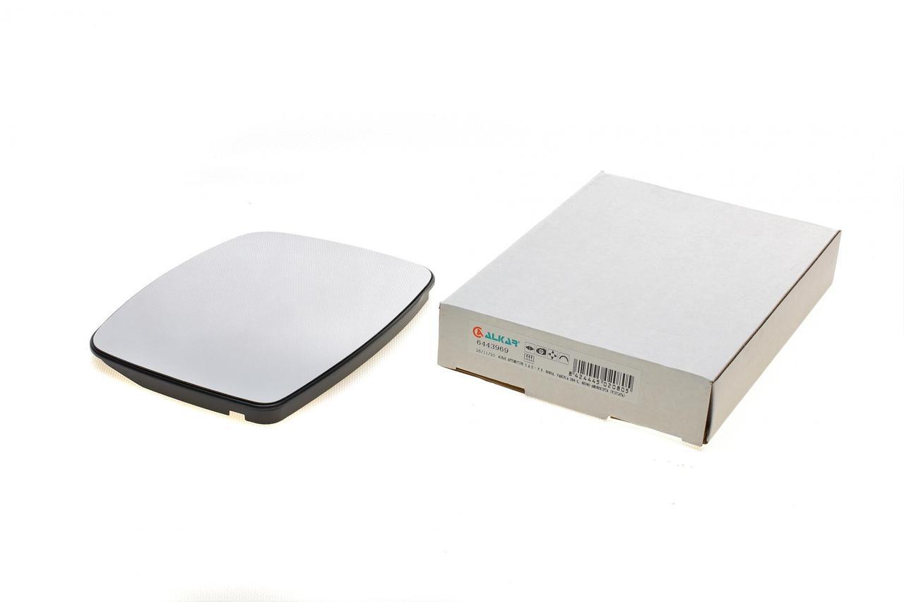 Стекло зеркала (с подогревом+ рамка) левое=правое (вставка, вкладыш) MB Vito (W638) 96- (6443969) ALKAR