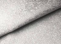 Обои серые с переливом Мегаполис виниловые на флизелиновой основе