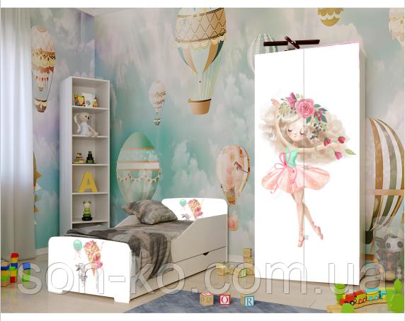 Кровать детская дисней Балерина. Бесплатная доставка
