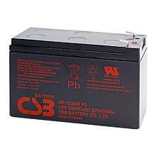 Батарея (Акумулятор) 12V 9Ah 34W CSB (HR1234WF2) нова