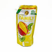 Рідке крем-мило для рук For my Family «Ківі і манго» 560 мл (запаска)