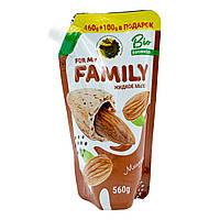 Рідке крем-мило для рук For my Family «Мигдаль» 560 мл (запаска)