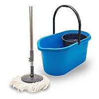 Набір для прибирання турбо швабра з відром і віджиманням Torbellino Fregar 360 °