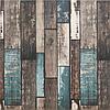 Декоративная 3Д панель стеновая Синее Дерево 02 5 шт моющиеся 3d панели для стен Прованс текстура 700x700x6мм