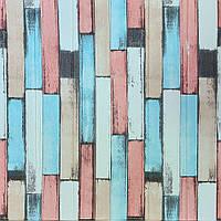 3Д стінова панель декоративна Прованс ПВХ (самоклеючі 3d панелі цегла для стін) під цеглу 700*700*5 мм, фото 1
