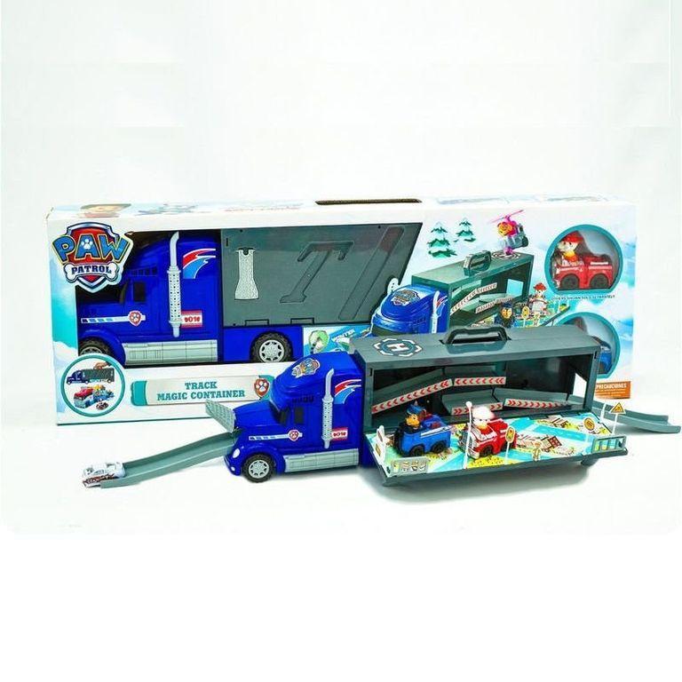"""Трейлер-гараж іграшковий """"Щенячий Патруль"""" з фігурками 355N"""