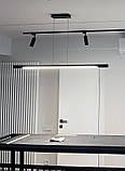 Линейный подвесной LED светильник Vele VL-Tube 40W 1260мм, фото 6