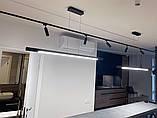 Линейный подвесной LED светильник Vele VL-Tube 40W 1260мм, фото 7
