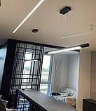 Линейный подвесной LED светильник Vele VL-Tube 40W 1260мм, фото 8