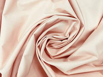 Отрез ткани Польская хлопковая ткань пудровая 60*160 см