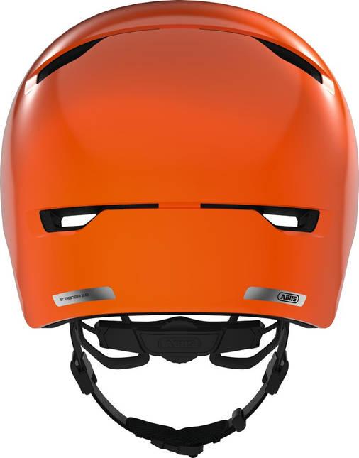 Велосипедный детский шлем ABUS SCRAPER 3.0 KID S 51-55 Shiny Orange, фото 2