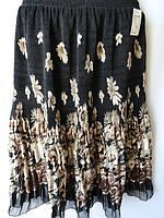 Женские юбки на лето купить длинные из шифона, фото 1