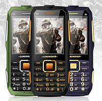 Противоударный водонепроницаемый телефон Land Rover t8 2 SIM Большая батарея 10800 mah
