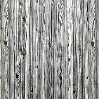3Д Панель 5 шт. декоративная под дерево Скандинавский стиль (самоклеющиеся 3d панели для стен) 700x700x7 мм