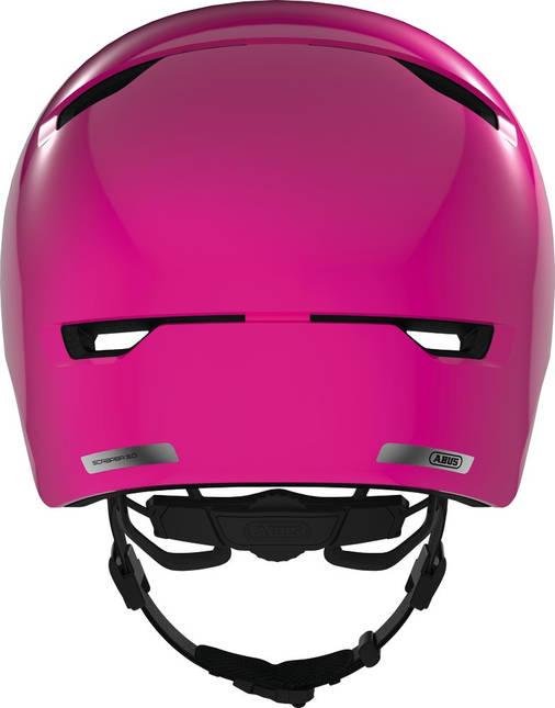 Велосипедний дитячий шолом ABUS SCRAPER 3.0 KID S 51-55 Shiny Pink, фото 2