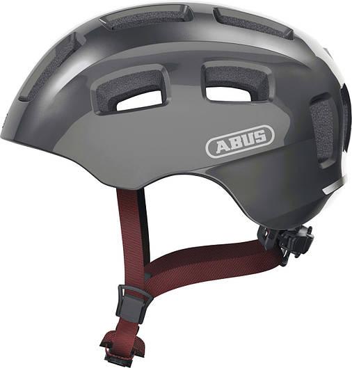 Велосипедний дитячий шолом ABUS YOUN-I 2.0 M 52–57 Sparkling Titan, фото 2