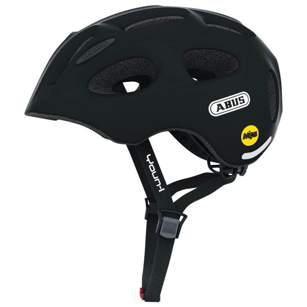 Велосипедний дитячий шолом ABUS YOUN-I MIPS M 52-57 Velvet Black