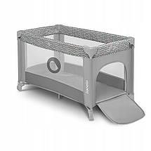 Манеж-кровать детский  Lionelo Stefi CONCRETE MULTICOLOR, фото 3