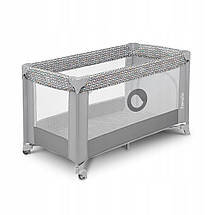 Манеж-кровать детский  Lionelo Stefi CONCRETE MULTICOLOR, фото 2