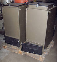Твердотопливный котел Bizon FS-20 Optima, 20 кВт, длительного горения, шахтного типа (Холмова), верх. загрузка