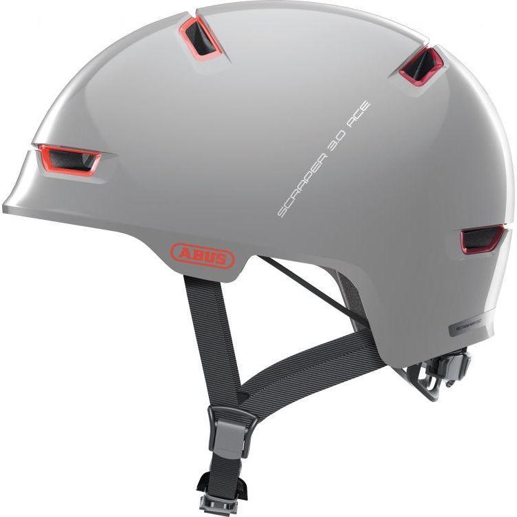 Шлем велосипедный ABUS SCRAPER 3.0 ACE M 54-58 Alaska Grey