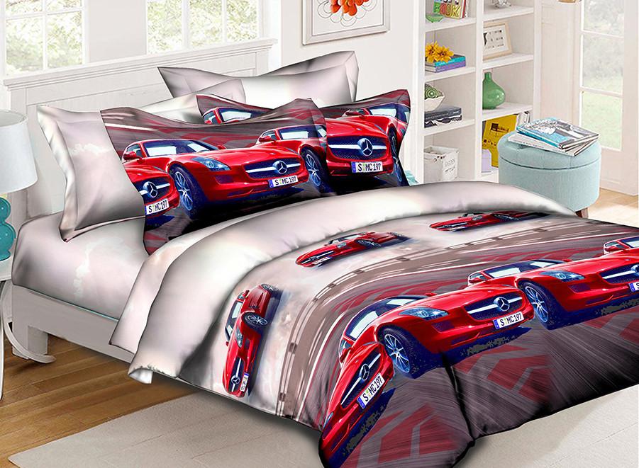 Детский комплект постельного белья 150*220 хлопок (17756) TM KRISPOL Украина