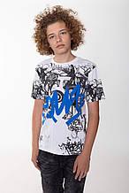 Дитяча футболка для хлопчика Young Reporter Польща 193-0440B-18-200-1 Білий